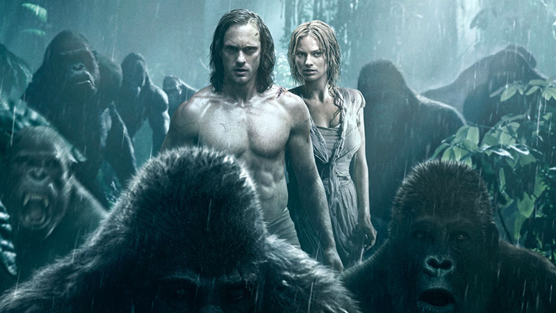 A legújabb, 2016-os filmadaptáció, a Tarzan legendája