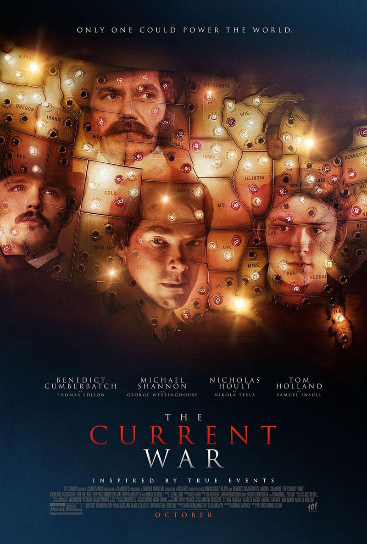 A The Current War című film plakátja