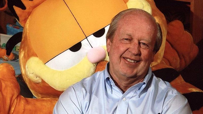 Garfield és alkotója Jim Davis