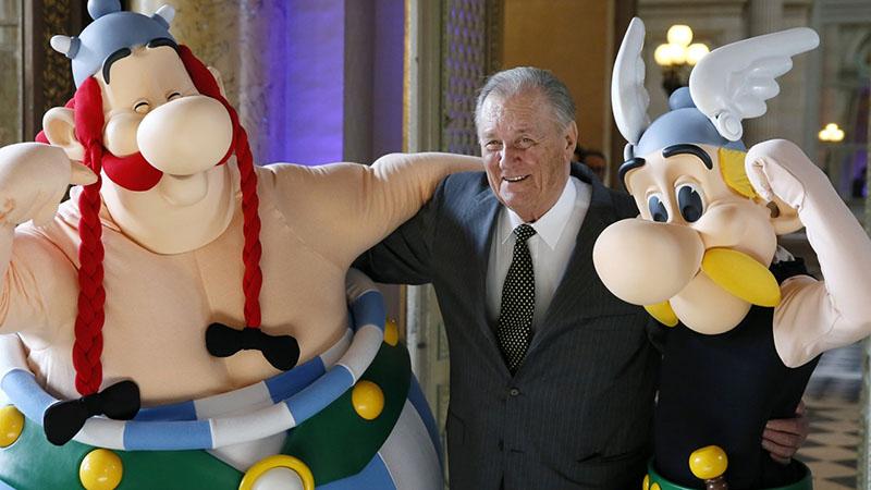 Albert Uderzo, és a teremtményei