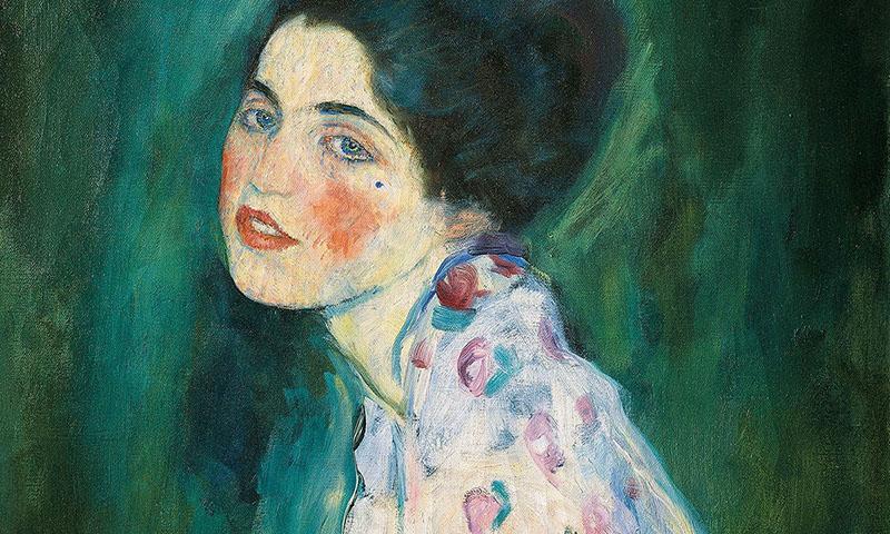 A megkerült Gustav Klimt-portré