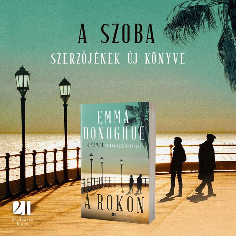 A szoba írójának új regényét a 21. Század Kiadó gondozza
