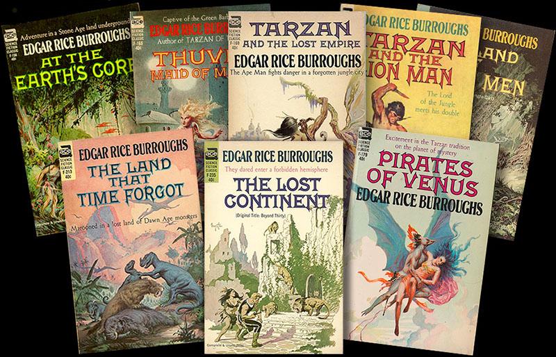 Burroughs regényei a mai napig népszerűek