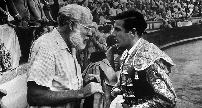 Ernest Hemingway és matador barátja, Antonio Ordonez
