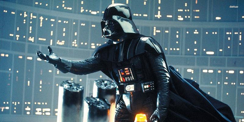 David Prowse viselte Darth Vader maszkját