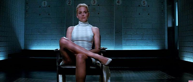 Sharon Stone máig leghíresebb szerepe, és az egyik leghíresebb filmjelenet