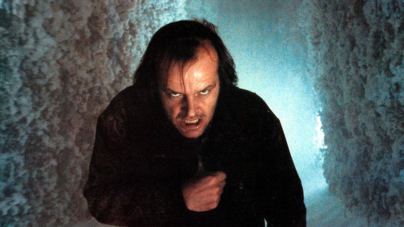 Stanley Kubrick legendás rendezése, és Nicholson ördögi alakítása