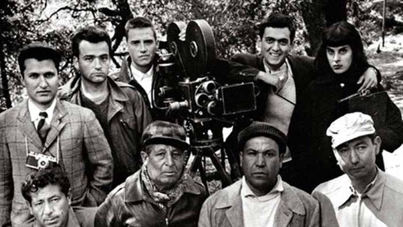 Stanley Kubrick és a Félelem és vágy csaknem teljes stábja