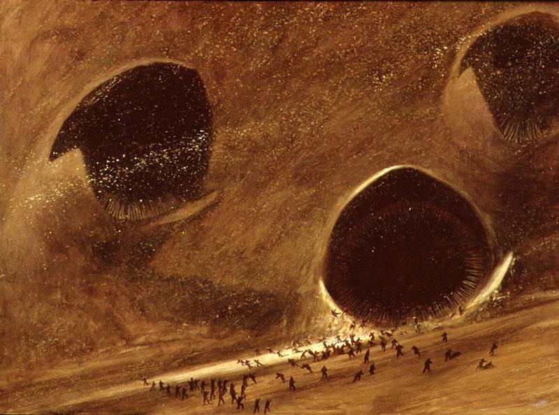 A kultikus homokférgek egy grafikán