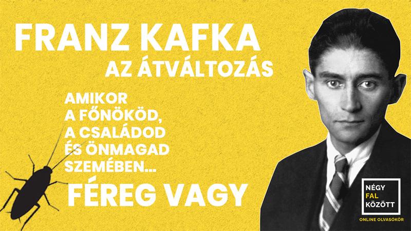A Négy Fal Között új részében Kafka Átváltozása