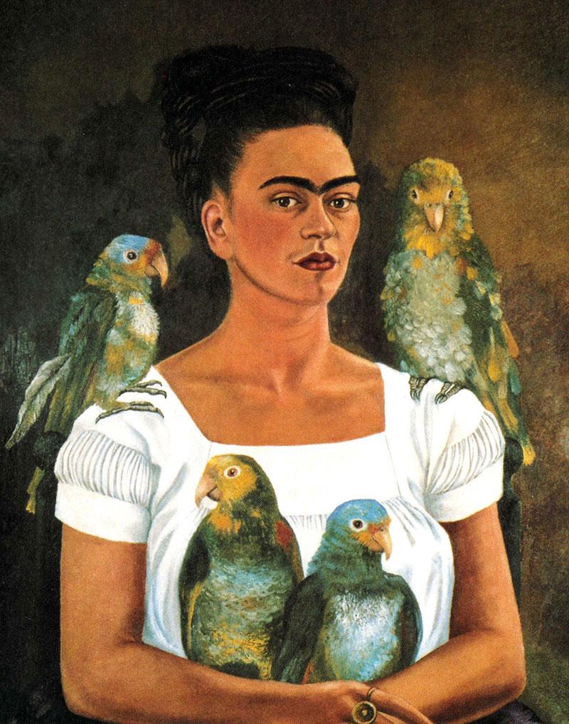 Frida Kahlo válogatott műveiből