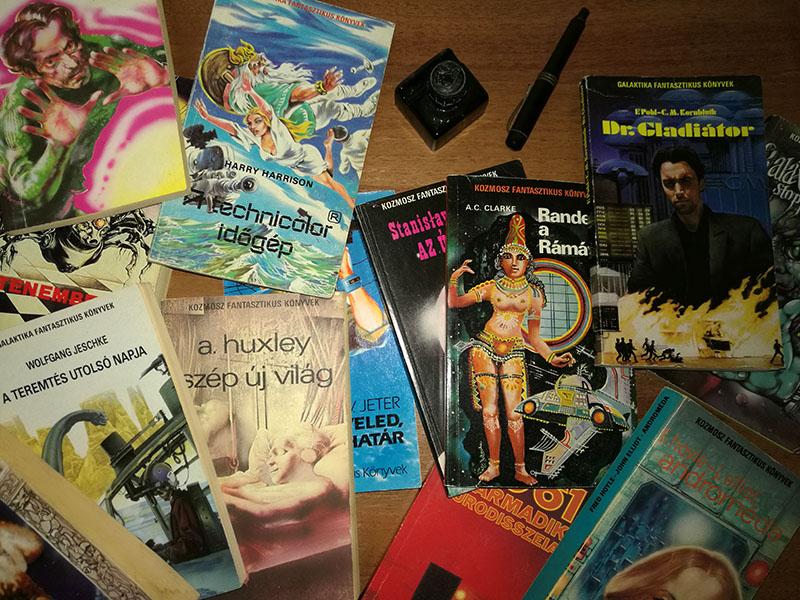 1980-tól immáron nagyobb alakban, 1988-tól pedig Galaktika Fantasztikus Könyvek néven