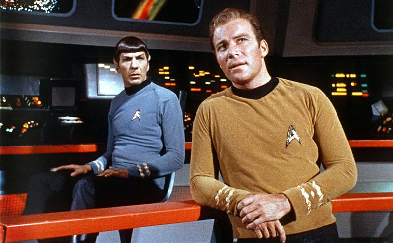 Kirk kapitány és elsőtiszje, Mr. Spock