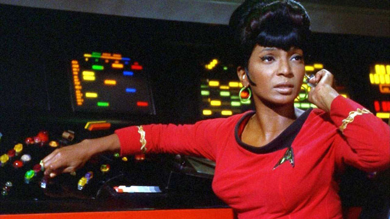 Nichelle Nichols, mint Uhura hadnagy