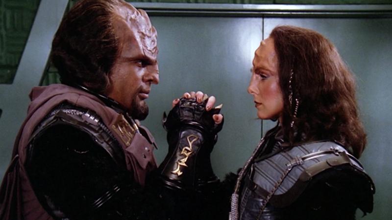 Klingon férfi és nő