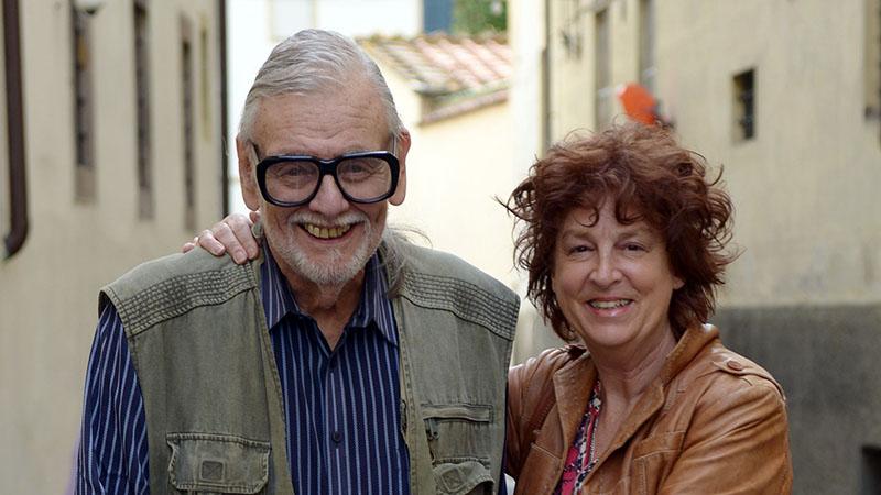 George A. Romero és özvegye, Suzanne Desrocher
