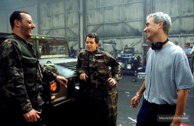 Jean Reno, Matthew Broderick, és a rendező, Roland Emmerich