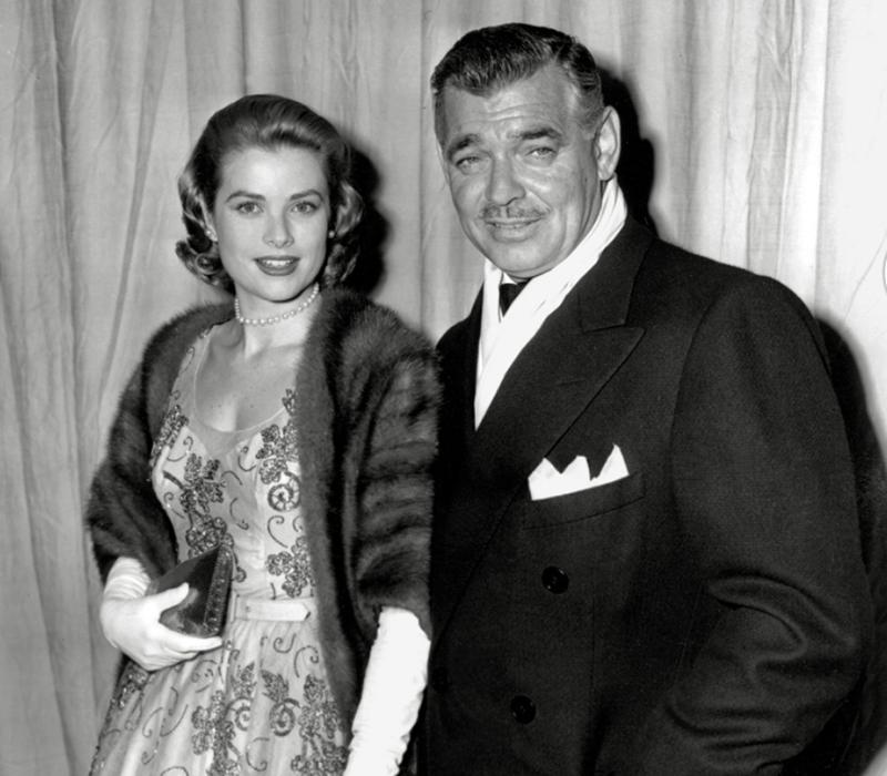 Clark Gable oldalán, akivel a Mogambo-ban játszottak együtt