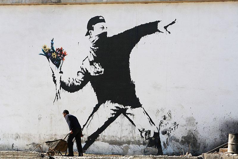Banksy műve