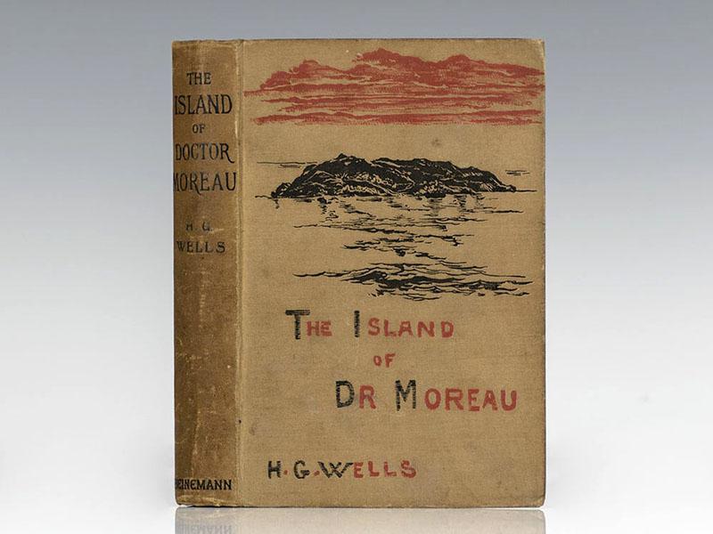 A Dr. Moreau szigetének első kiadása