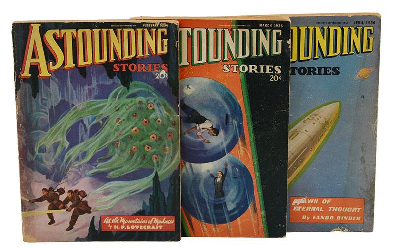 Az őrület hegyei első megjelenése az Astounding Stories magazinban