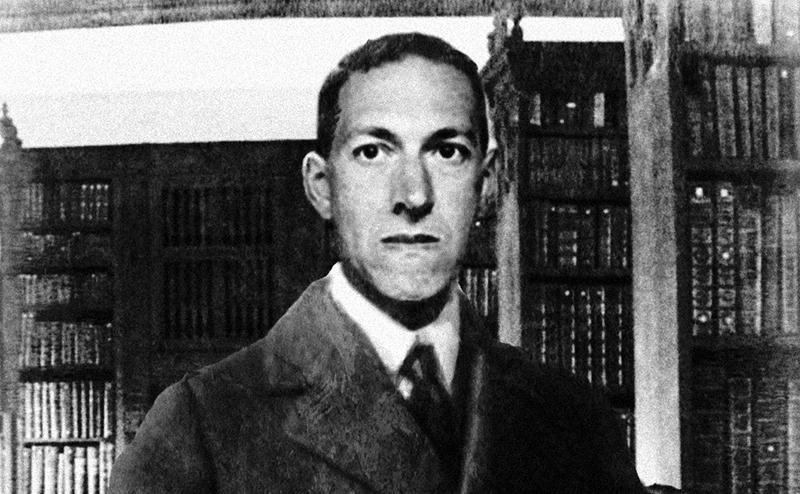 A Lovecraftról fennmaradt kevés fotó egyike