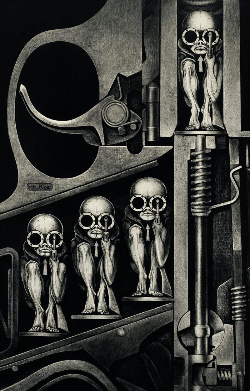 H. R. Giger válogatott művei
