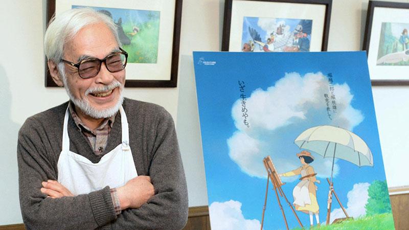 A kiállítás bemutatja Miyazaki teljes alkotói folyamatát