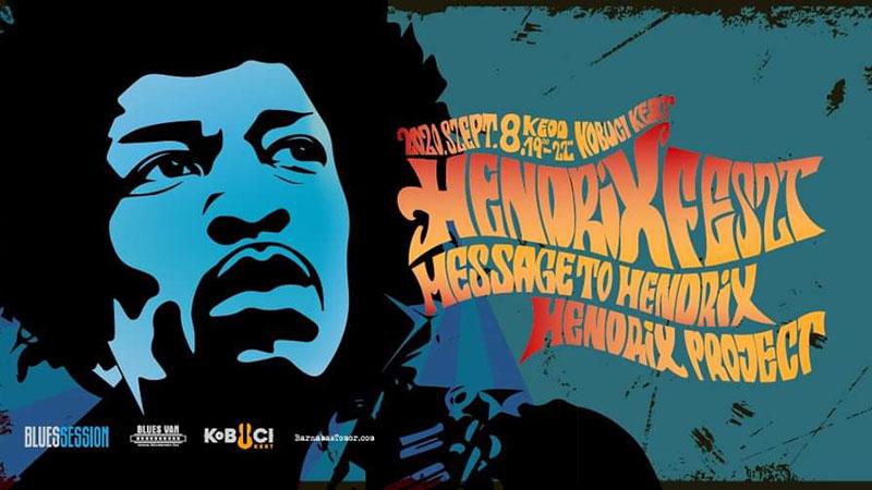 Jövő kedden HendrixFeszt a Kobuci Kertben