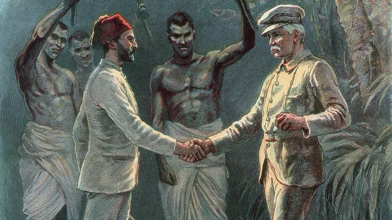 Emin pasa megtalálása 1888-ban