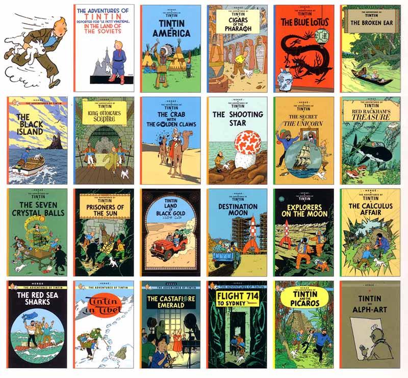 A Tintin-sorozat