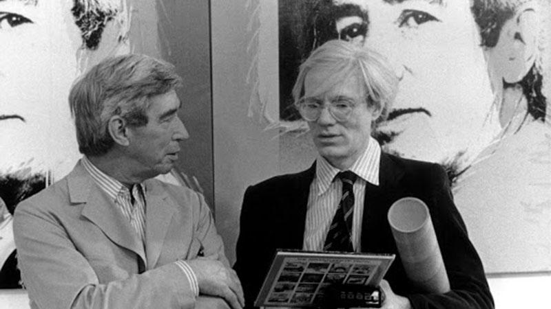 Hergé és Andy Warhol egy párizsi kiállításon