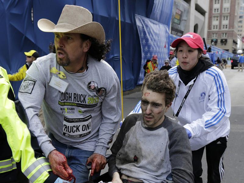 A bostoni robbantások 144 sérülttel és 3 halottal jártak