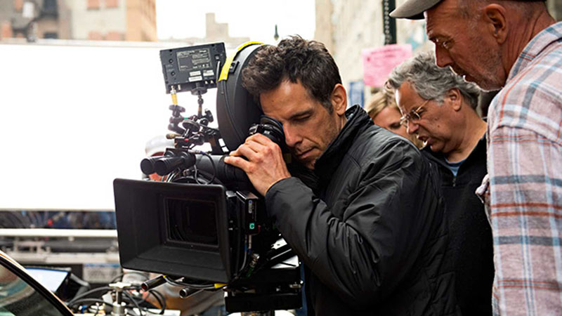 Ben Stiller a kamera mögött
