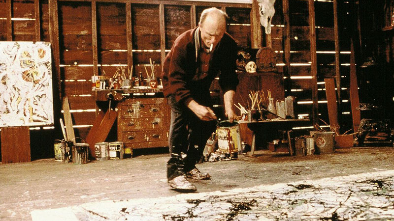 Ed Harris az általa rendezett Pollock főszerepében