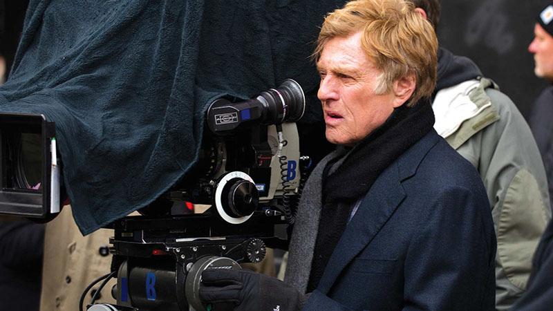 Robert Redford a kamera mögött