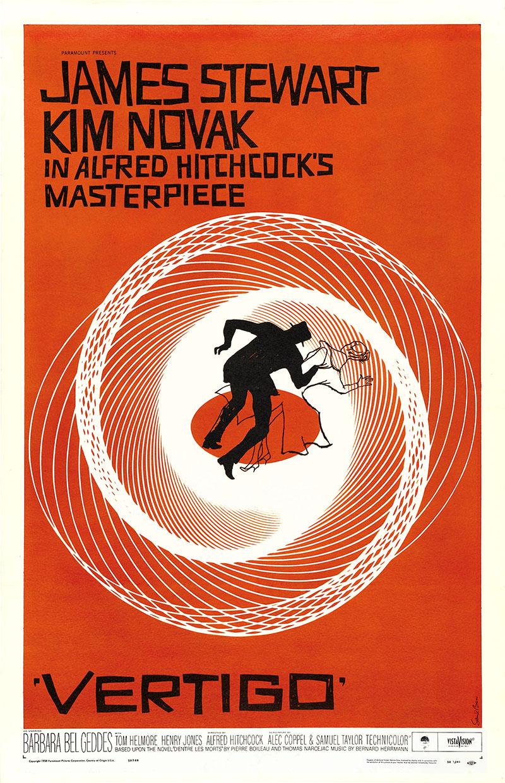 A Szédülés eredeti plakátja