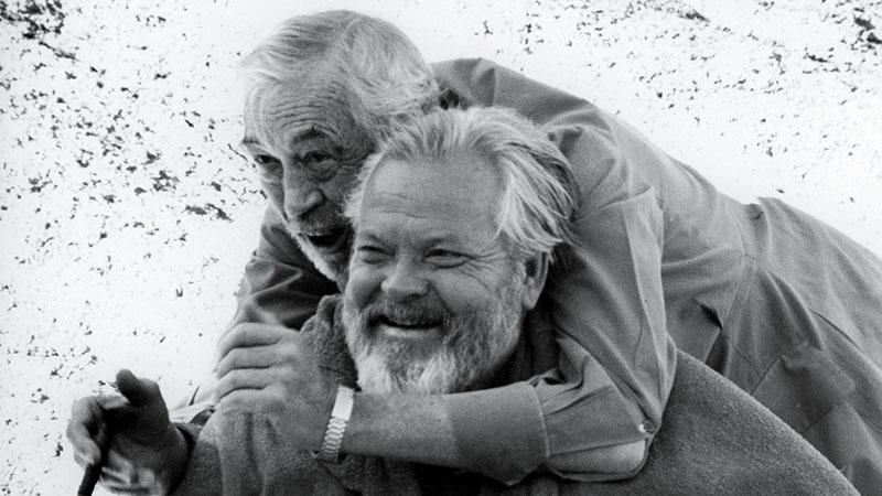 John Huston és Orson Welles, az aranykor legendái