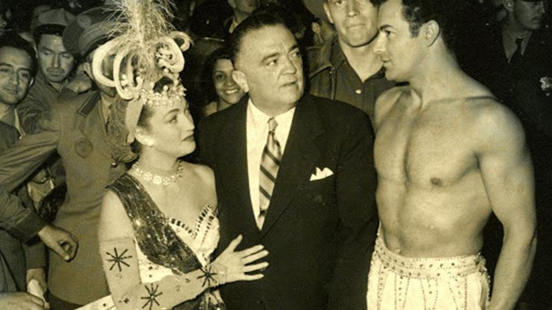 J. Edgar Hoover, aki folyamatosan szemmel tartotta Hollywoodot