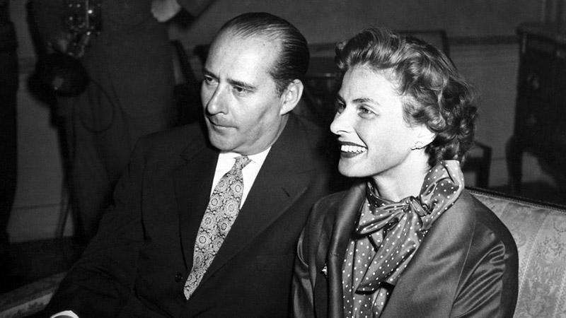 Bergman, és Rossellini még a botrány előtt