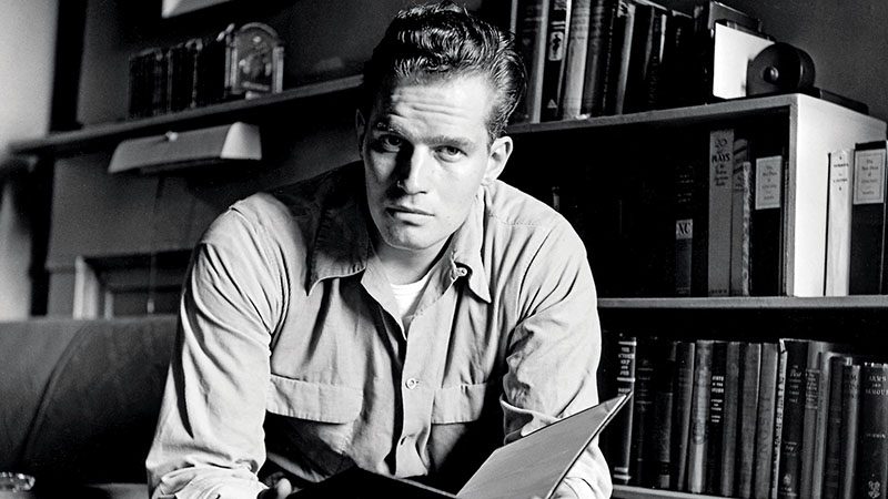 Charlton Heston a háború idején