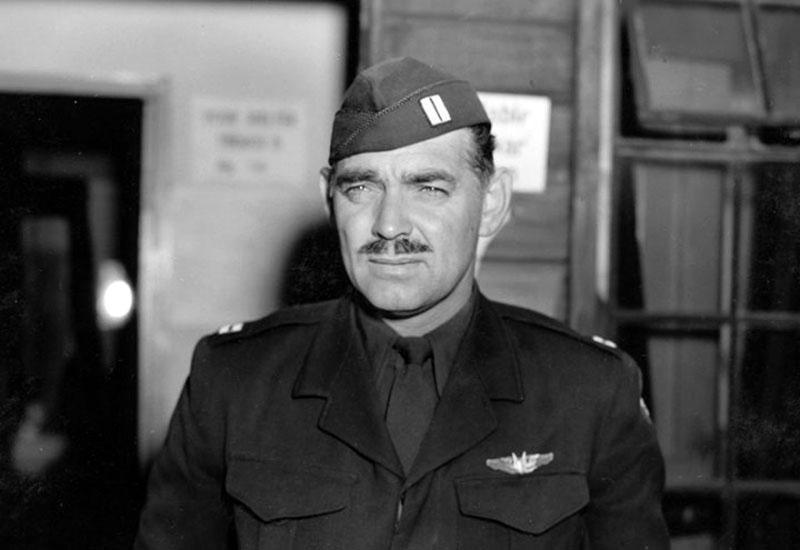 Clark Gable a seregben