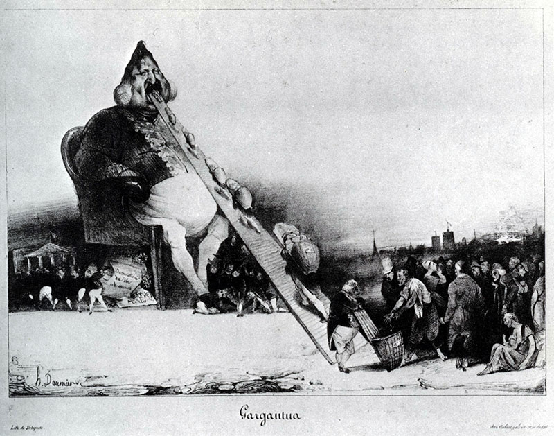 Daumier: Gargantua