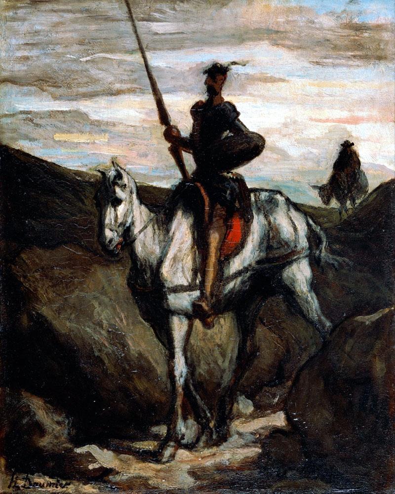 Daumer: Don Quijote a hegyekben