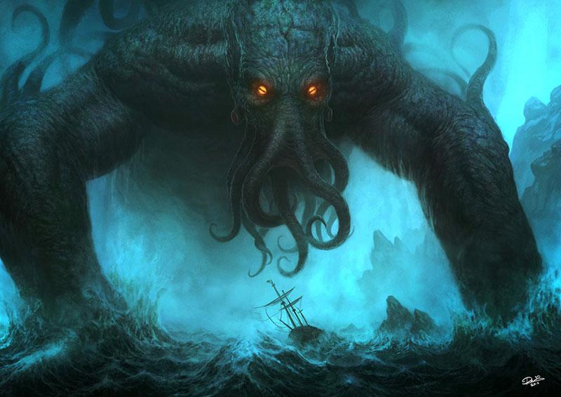 Cthulhu, H. P. Lovecraft kultikus teremtménye