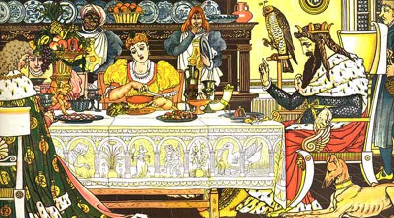 A Hercegnő és az agyonütött, lefejezett és felgyújtott békakirályfi (Forrás: Forrás: Whisperingbooks.com)