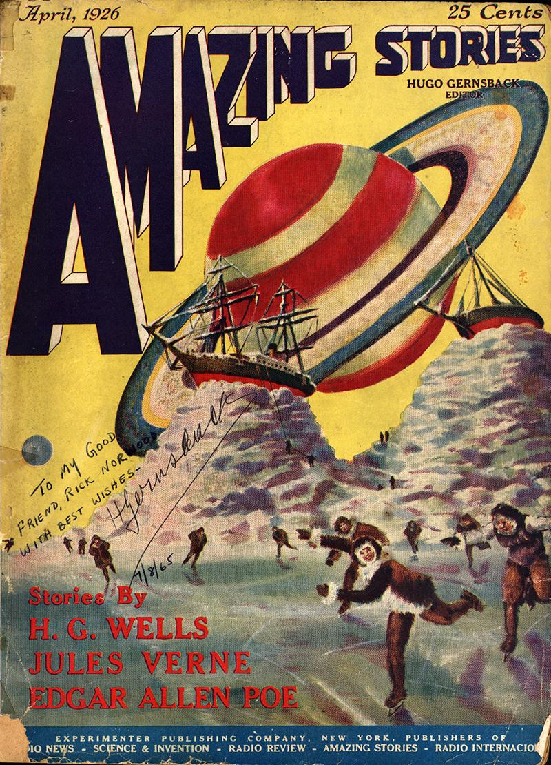 Az Amazing Stories legelső száma 1926 áprilisából