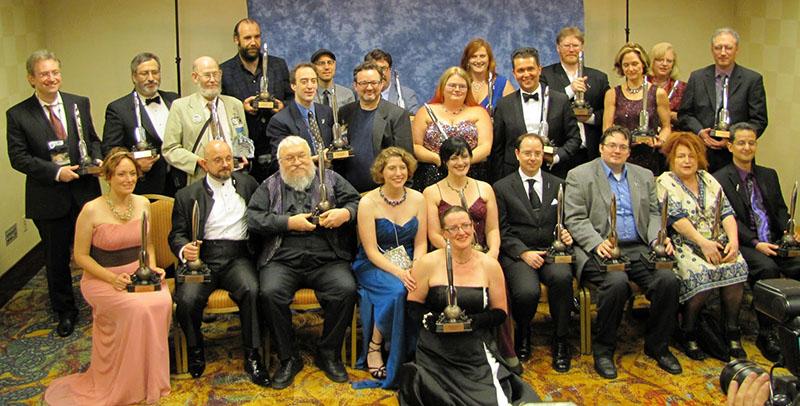 2013-as Hugo-díjazottak, köztük a Trónok harca írója George R. R. Martin