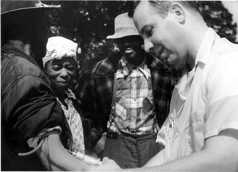 A Guatemala-szifilisz kísérlet oltásai