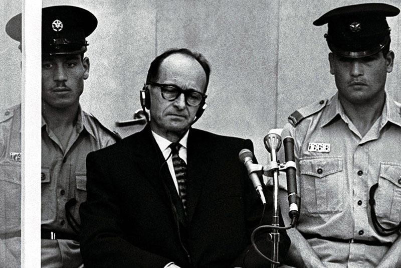 Adolf Eichmann a jeruzsálemi bíróságon